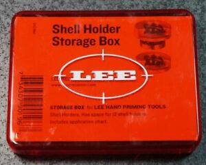 LEE 12 Shell Holder Box Red 90196 NEW $9.99