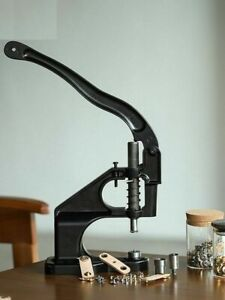 Button Installation Stamping Snap Fasteners Hand Press Machine Home Craft Tools $30.17