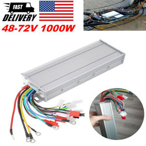 48 72v 1500w E bicyle Scooter Brushless Dc Motor Speed Controller Dual Modes