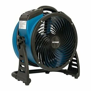 P 26ar Industrial Axial Air Mover Blower Fan With Build in Power Outlets