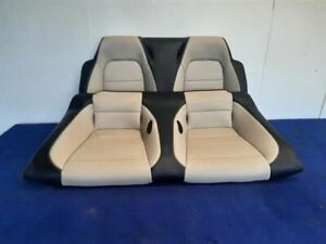 2015 2016 2017 2018 2019 Ford Mustang Convertible Two Tone Tan Black Leather