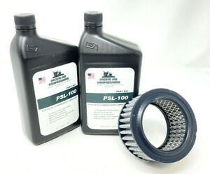 I r Air Compressor Maintenance Kit Synthetic Oil Air Filter 20100251 Ss5