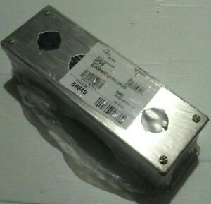 Nvent hoffman E4pbss Stainless Steel 4 pushbutton Enclosure New Free Shipping
