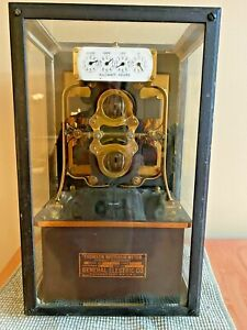 Antique General Electric Brass Thomson Watthour Meter ultimate Steampunk Euc