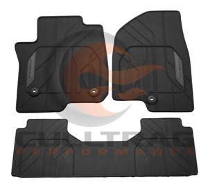2021 Suburban Tahoe Genuine Gm Front 2nd Row All Weather Floor Mats Black