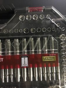 Husky 135 Piece Mechanics Tool Set Clear Case