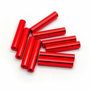 10pcs M2x20mm Aluminum Spacer Standoff red Anodized