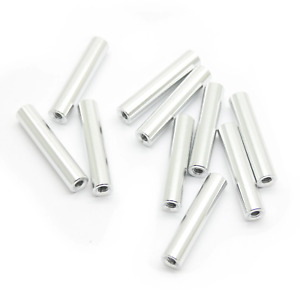 10pcs M2x20mm Aluminum Spacer Standoff silver Anodized