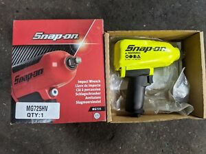 Snap On Mg725 Hi Vis 1 2 Air Impact Wrench Open Box