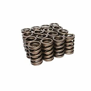Lunati 73943 16 Single Valve Spring W Damper 1 260 O D Set Of 16