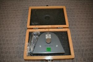 Hilger Watts Tb108 Pendulum Clinometerwith Wooden Case With Foam
