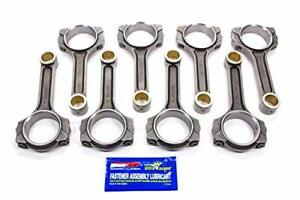 2 Icr6200 7 16 Sb Chevy Ford 408 Scat Pro Comp I Beam Connecting Rods 6 200 Arp