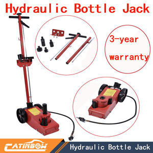 22ton 48501lb Air Hydraulic Bottle Jack Floor Jack Hd Truck Tire Tool Industrial