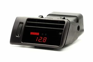 P3g Boost Gauge In Dash Display W Vent Black For Audi C5 A6 S6 Allroad
