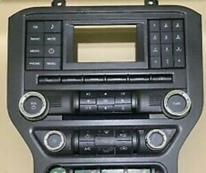 2015 2018 Ford Mustang V6 Radio With Screen Receiver Cd Player