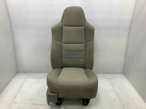 Passenger Rh Front Manual Cloth Seat Med Stone 3s 2008 10 Ford F250 F350sd