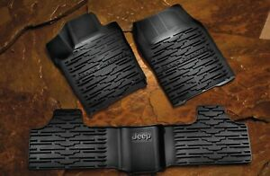 Jeep Grand Cherokee 2013 2015 Slush Style Winter Mats Rubber Floor Mats Mopar