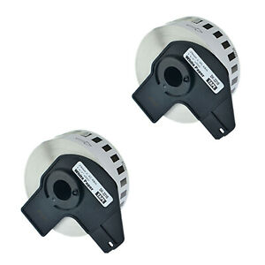 2 Roll Dk 2210 Labels Compatible For Brother Ql 720nw W 2 Premium Permanent Core