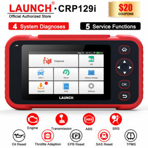 Launch X431obd2 Tablet Reader Scanner Abs Srs At Scan Epb Sas Oil Tpms Reset