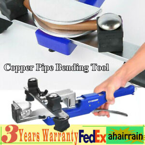 Hvac Refrigeration Copper Pipe Tube Bender Manual Soft Copper Pipe Bending Tools