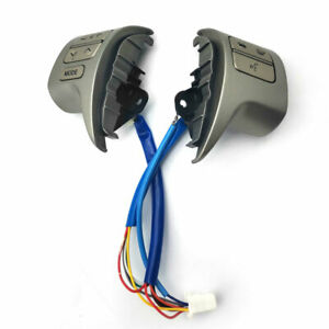 For 2007 2014 Toyota Corolla Zre15 Steering Wheel Audio Control Button Switch