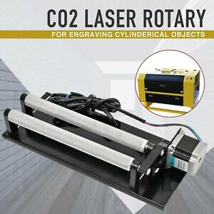 Rotary Axis For Co2 Laser Engraver Cutter Engraving Machine Rotation Device Ota