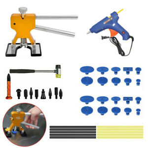 Repair Kit Automative Dent Puller Tools Paintless Car Hail Damage Dent Remover