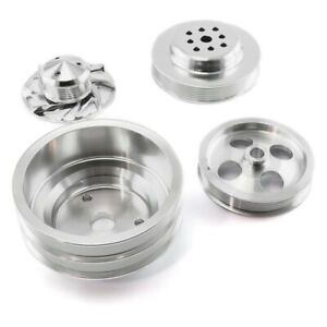 For Chevy Camaro 67 97 Pulley Kit Serpentine Pulley Kit W Long Water Pump Type