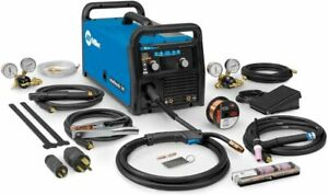 Miller Multimatic 215 Multiprocess Welder With Tig Kit 951674 Brand New In Box