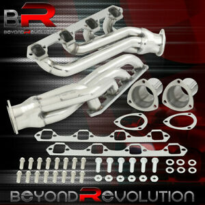 For 1964 1973 Mustang 4 7l 5 0l 260 289 302 V8 S s Racing Shorty Header Exhaust