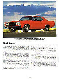 1969 Ford Torino Cobra Article Must See