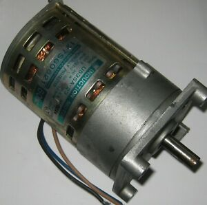 Japan Servo Single Phase Induction Motor W Gearhead U535a 55 Rpm 100 V
