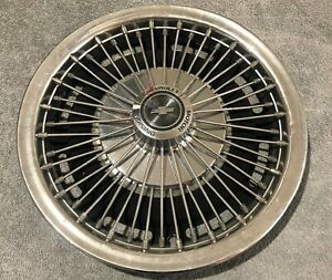 1967 68 Chevrolet Camaro Nova Impala 14 Wire Spoke Hubcap Chevy