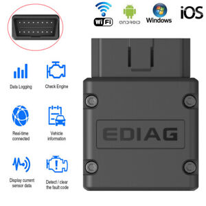Ediag Elm327 Wifi Obd2 Scanner Car Code Reader Diagnostic Tool For Ios Android
