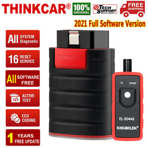 Thinkcar Thinkdiag X431 Obd2 Scanner Bidirectional Diagnostic Tool Ecu Coding