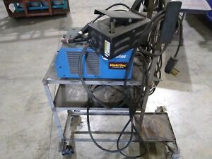 Miller Maxstar 152 with Regular And Tig Torch With Cart