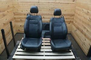 Set Of 4 Front Rear Left Right Seat Leather Electric Heat Cool Mustang 2015 17