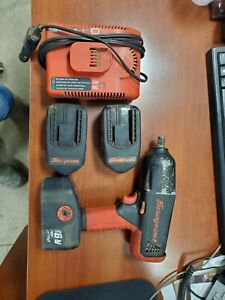 Snap on 1 2 Impact With Batteries And Charger