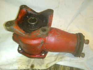 Vintage Ford Tractor Pto Driven Belt Pulley Gear Box 8n 9n Jubilee Others
