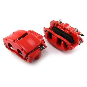 For Chevy Corvette 67 97 Brake Caliper Kit Gm Red Front Driver Passenger Side
