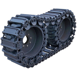 Prowler 12 Inch Fusion Steel Skid Steer Over The Tire Tracks Ott 12x16 5