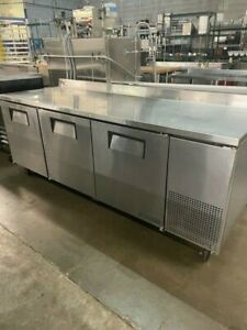 True Twt 93 hc 3 door Work Top Cooler 15546