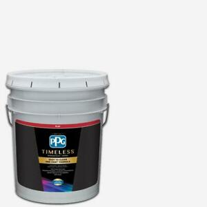 Ppg Timeless 5 Gal Pure White base 1 Flat Interior Paint With Primer