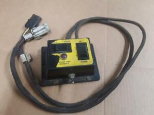 Tested Working Sno Way Snoway Snow Plow Controller Down Pressure 24 25 99100012