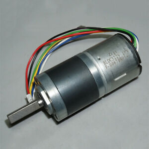 Dc 12v 18v 100rpm Slow Speed Mini 32mm Brushless Planetary Gear Motor Robot Car