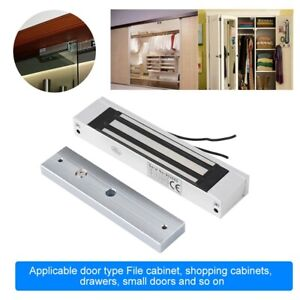 Electric Magnetic Electromagnetic Lock Recessed Door Lock 180 Kg Strong Force