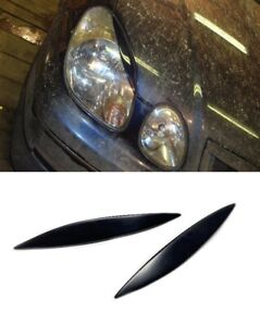 Headlight Eyelashes Eyelids Eyebrows For Toyota Aristo 2 Gen Lexus Gs300 Gs430