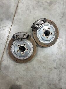 2003 2004 96 04 Ford Mustang Cobra Svt Brake Calipers With Slotted Rotors