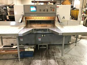 Printing Press Paper Cutter 2000 Polar 115e Very Low Cut Count