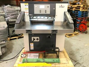 Printing Press Paper Cutter 2019 Polar D 66 Very Low Cut Count